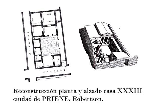 Jardines de la antiguedad grecia por virginia segu Casas griegas antiguas