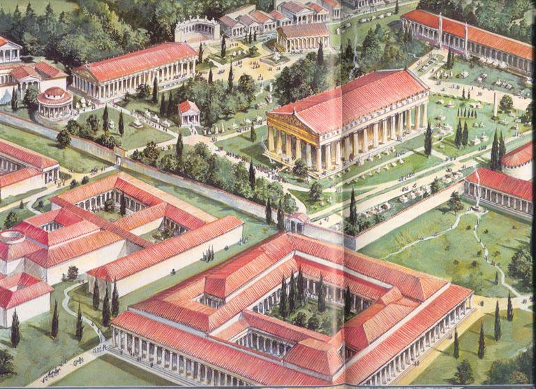 jardines de la antiguedad grecia por virginia segu